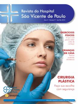 cirurgia plástica - Hospital São Vicente de Paulo