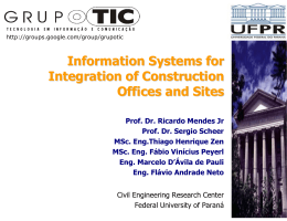 Information Systems for Integration of Construction Offices and Sites