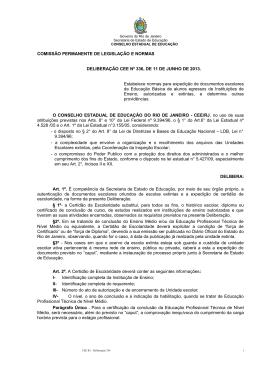 Deliberação nº 336