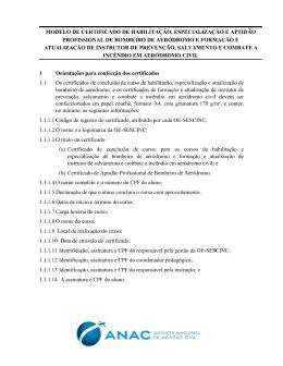 Modelo de certificado de conclusão de curso