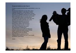 Oração da Família - colégio dom feliciano