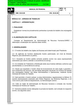 MANPES - MÓDULO 22 - CAPÍTULO 001 - Sintect-GO