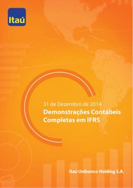 Demonstrações Contábeis Completas em IFRS