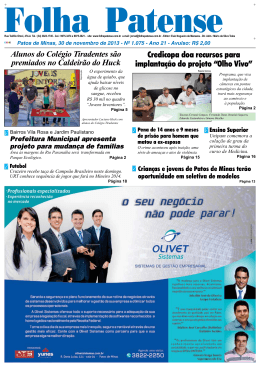 nº 1075 - Folha Patense