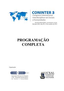 PROGRAMAÇÃO COMPLETA
