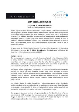 Release - Colégio Estadual - BH