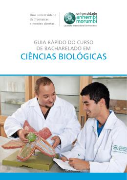 guia rápido - ciências biológicas