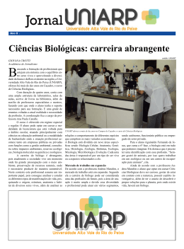CIENCIAS BIOLOGICAS