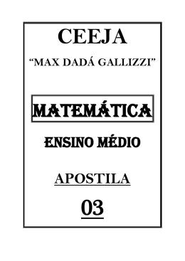 MATEMÁTICA - CEEJA