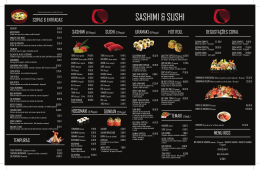 - CORAL a Sushi Concept