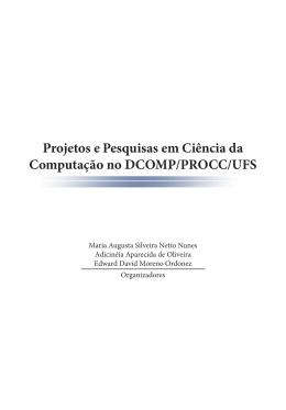 Projetos e Pesquisas em Ciência da Computação no DCOMP