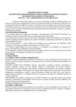 Ed 1 2015 DPU Adm - edital de abertura