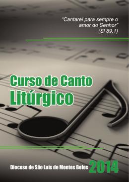 Curso de Canto - Diocese de São Luís dos Montes Belos