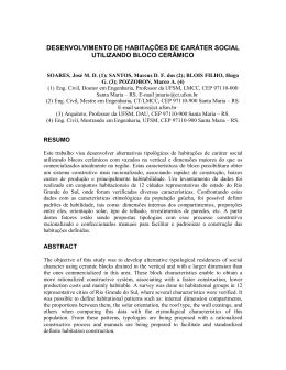desenvolvimento de habitações de caráter social