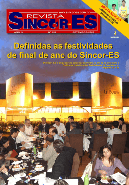 Ler Revista - SINCOR-ES