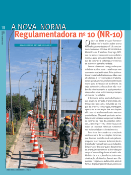 Regulamentadora nº 10 (NR-10)