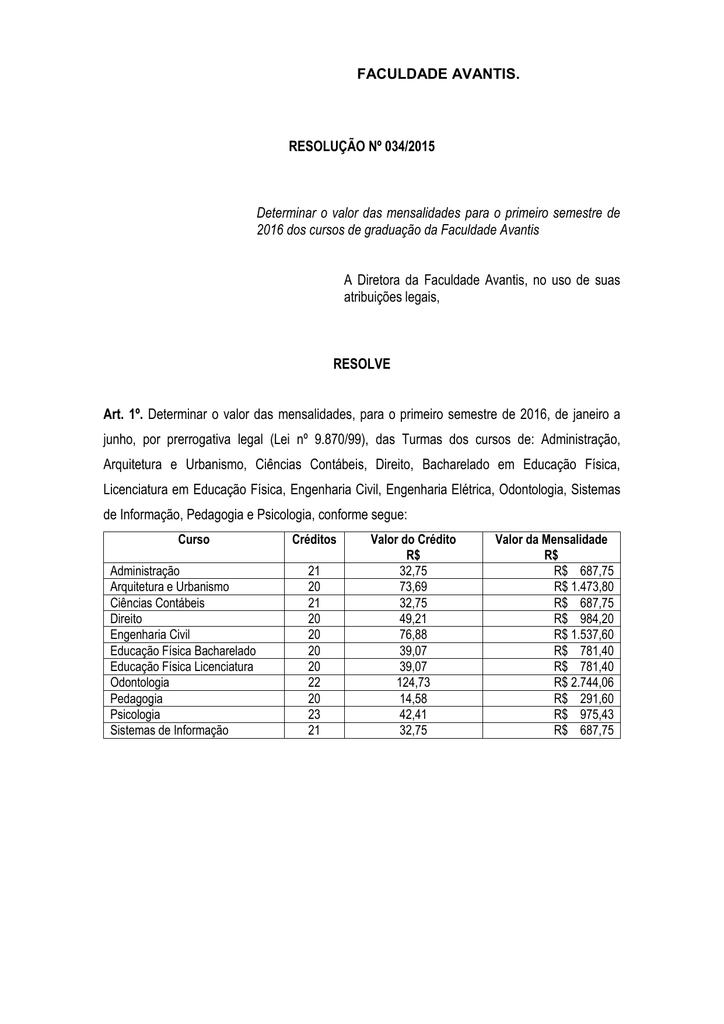 valor das mensalidades7101 Mensalidade Curso De Engenharia Civil #16