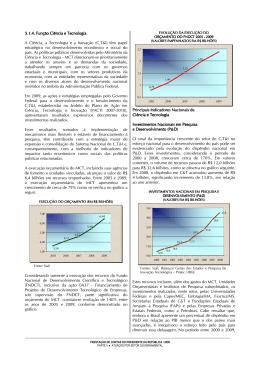 Função Ciência e Tecnologia - Controladoria