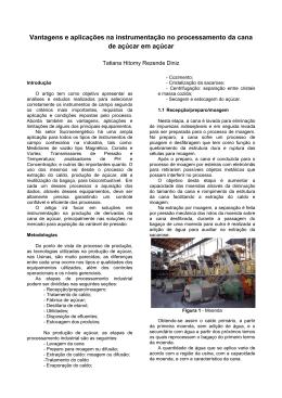 Vantagens e aplicações na instrumentação no processamento da