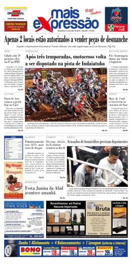 Edição 654 - Jornal Mais Expressão