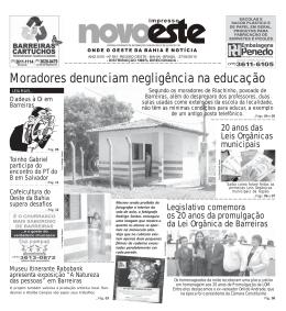 Veja essa Edição no formato PDF - Novoeste on-line
