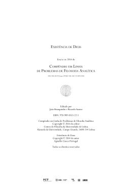 Existência de Deus (Agnaldo Cuoco Portugal)