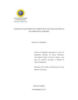 Thiago Torres Magalhães - Poli Monografias
