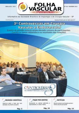 3º Controvérsias em Cirurgia Vascular e Endovascular - sbacv-sp