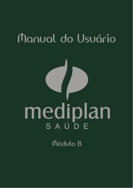 Manual do Usuário - Mediplan Assistencial