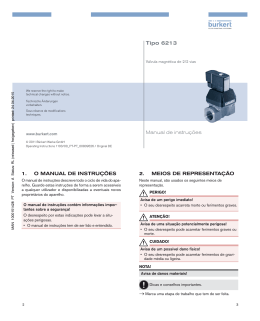 Tipo 6213 - Bürkert Fluid Control Systems