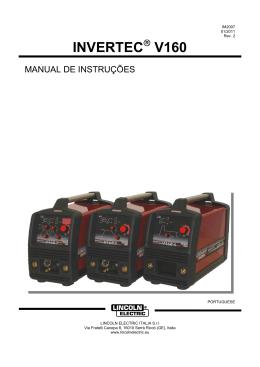INVERTEC V160 - Lincoln Electric