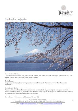 Esplendor do Japão