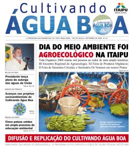 Jornal Cultivando Água Boa, edição nº 13