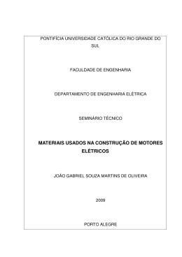materiais usados na construção de motores elétricos