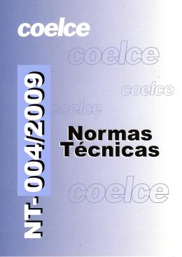 norma técnica nt-004/2009 r-03
