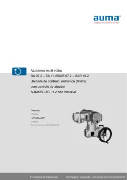 Atuadores multi-voltas SA 07.2 – SA 16.2/SAR 07.2 – SAR 16.2