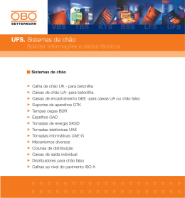 UFS. Sistemas de chão