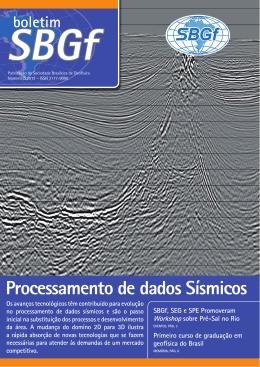Boletim 3-2012 - Sociedade Brasileira de Geofísica