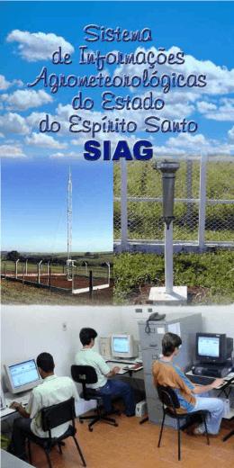 Sistemas de informações agrometeorológicas do Estado