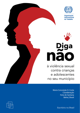 Diga não à violência sexual contra crianças e adolescentes no seu