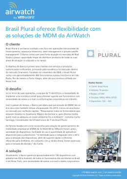 AirWatch by VMware Case_Study