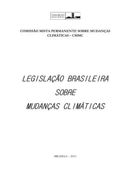 legislação brasileira sobre mudanças climáticas
