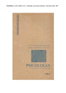Psicologia: uma (nova) introdução