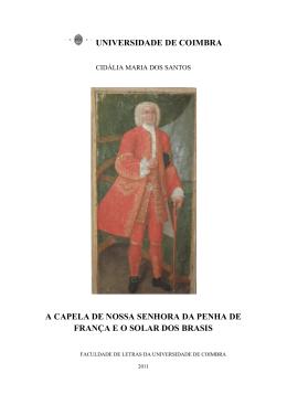 Dissertação Cidália santos - Estudo Geral