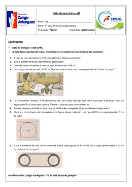matemática flávio p2 iii bimestre