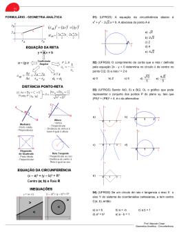(UFRGS) Os pontos A(-1, 3)