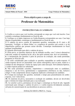 CONHECIMENTOS DE LÍNGUA PORTUGUESA