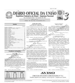 Aviso de Suspensão - 16/4/2013