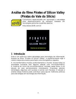 Análise do filme Pirates of Silicon Valley (Piratas do Vale do