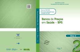 Banco de Preços em Saúde – BPS